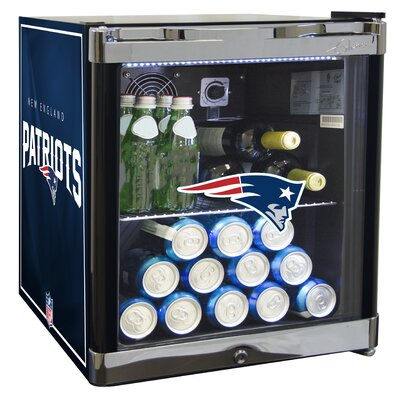 NFL 1.8 cu. ft. Beverage Center NFL Team: New England Patriots