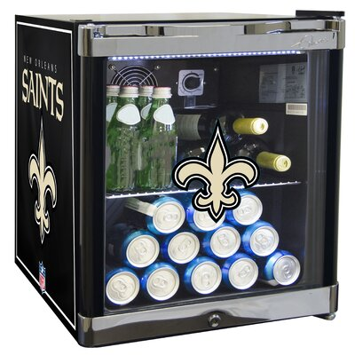 NFL 1.8 cu. ft. Beverage Center NFL Team: New Orleans Saints