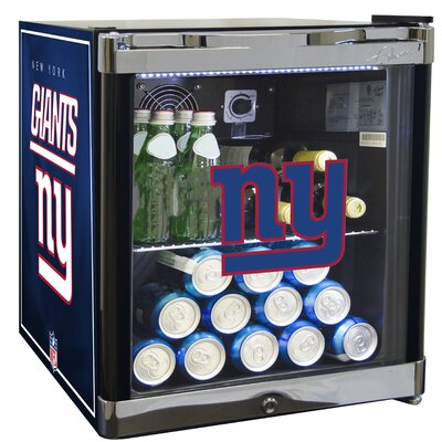 NFL 1.8 cu. ft. Beverage Center NFL Team: New York Giants