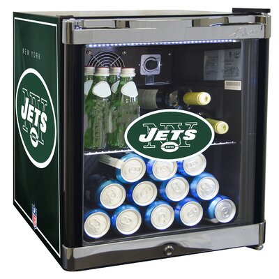 NFL 1.8 cu. ft. Beverage Center NFL Team: New York Jets