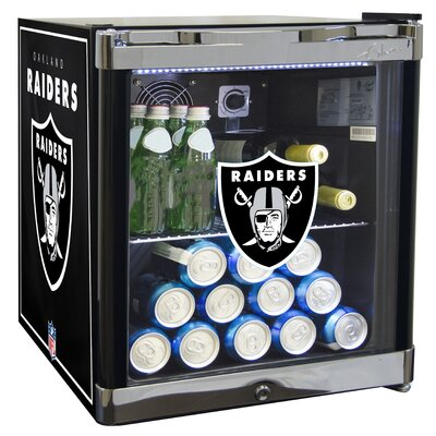 NFL 1.8 cu. ft. Beverage Center NFL Team: Oakland Raiders