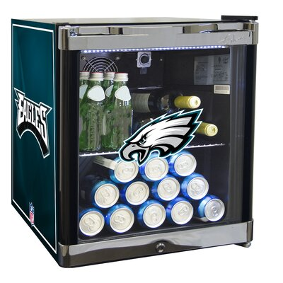 NFL 1.8 cu. ft. Beverage Center NFL Team: Philadelphia Eagles