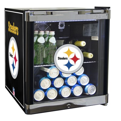 NFL 1.8 cu. ft. Beverage Center NFL Team: Pittsburgh Steelers