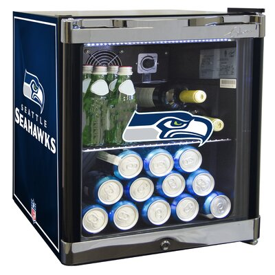 NFL 1.8 cu. ft. Beverage Center NFL Team: Seattle Seahawks