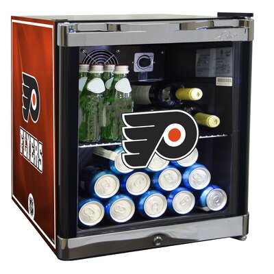 NHL 1.8 cu. ft. Beverage Center NHL Team: Philadelphia Flyers
