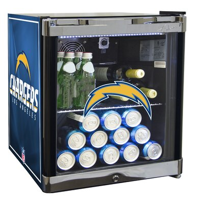 NFL 1.8 cu. ft. Beverage Center NFL Team: San Diego Chargers