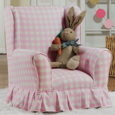 Evangelina Wing Kids Cotton Club Chair
