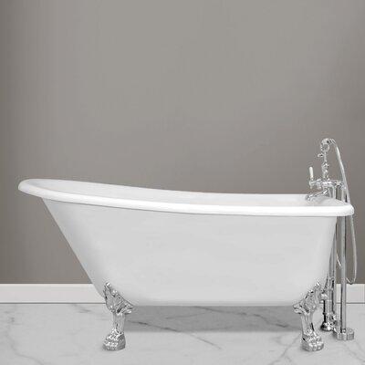 """Picadilly 69.25"""" x 28.75"""" Soaking Bathtub"""