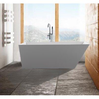 """Scarlet 67"""" x 31.5"""" Soaking Bathtub"""