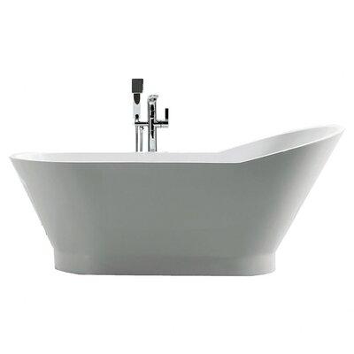 "Dove 67"" x 27.875"" Soaking Bathtub"