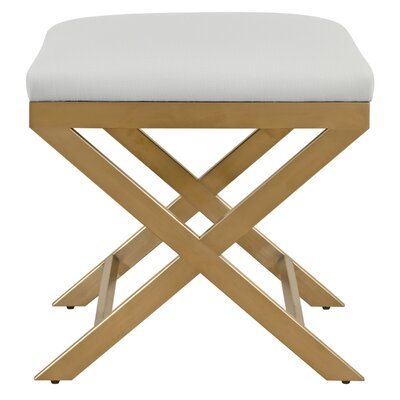 Gibbon Vanity Stool Color: Adley Mushroom