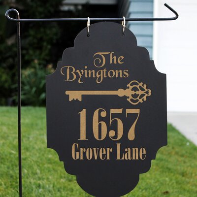 Blackboard 3-Line Hanging Sign