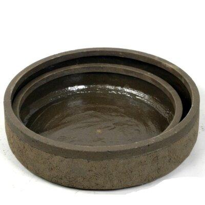 Pinkston 2 Piece Polyresin Pot Planter Set