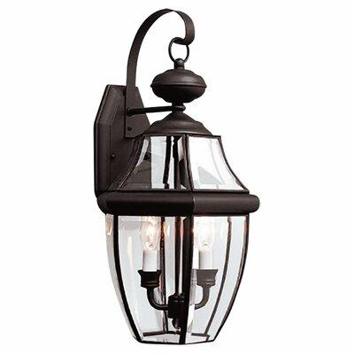 Sea Gull Lighting 2 Light Outdoor Wall Lantern