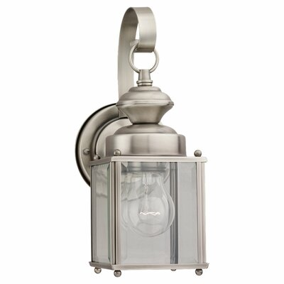 Sea Gull Lighting Jamestowne 1 Light Outdoor Wall Lantern
