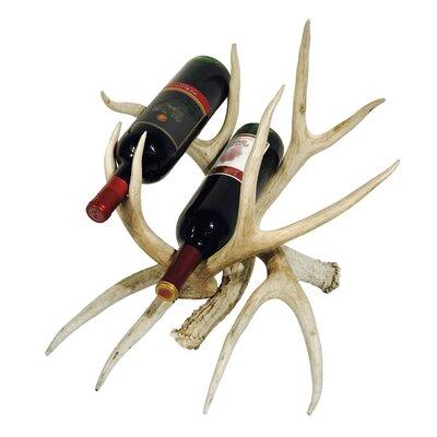 Alois 2 Bottle Table Top Wine Bottle Rack