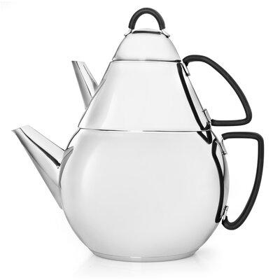 Bredemeijer 2,8 L Teekanne Universal aus Edelstahl