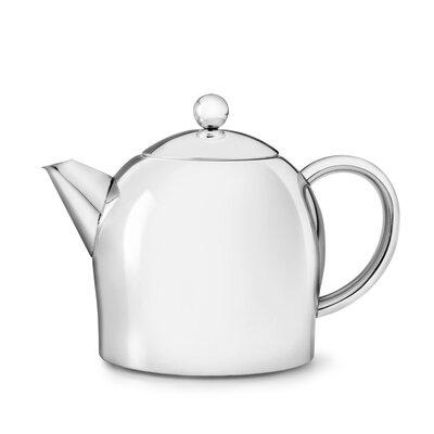 Bredemeijer Teekanne Minuet aus Edelstahl