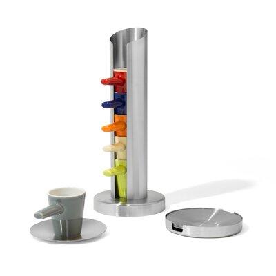 Bredemeijer Tassenaufbewahrung mit 6 Tassen & Untersetzern