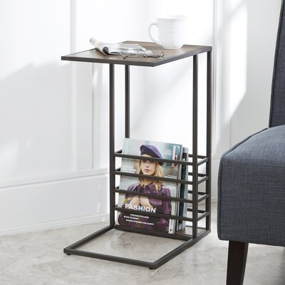 Raze Wood And End Table