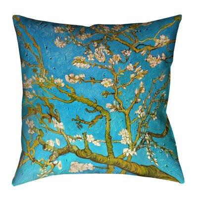 Lei Almond Blossom Throw Pillow
