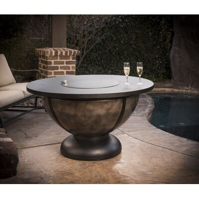 Onyx Steel Propane Fire Pit Table