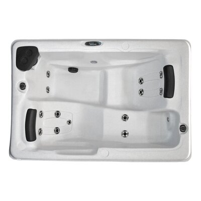 2-Person 14 Jet Plug and Play Spa with LED Light