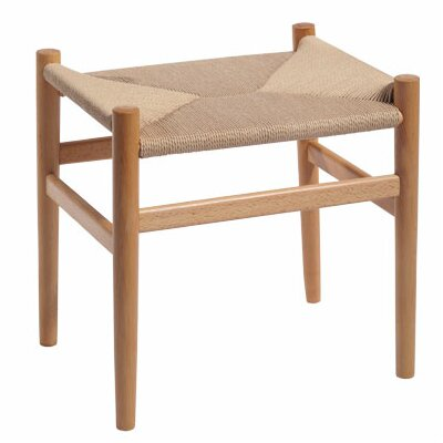 Nishank Solid Wood Accent Stool