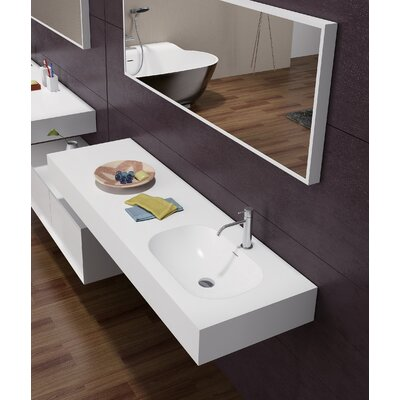 "Sonoma Stone 48"" Wall Mount Bathroom Sink"