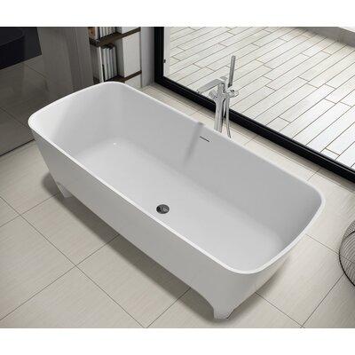 "Coronado 71"" x 32"" Freestanding Soaking Bathtub"