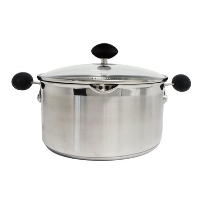 5-qt. Stainless Steel Non-Stick Soup Pot with Lid