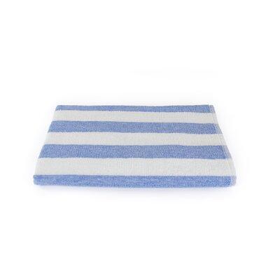 Stripe Beach Towel Color: Porcelain Blue