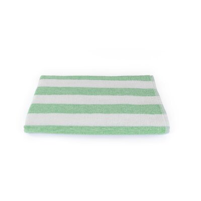 Stripe Beach Towel Color: Lime