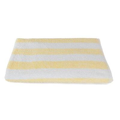 Rectangle Stripe Beach Towel Color: Sandstone