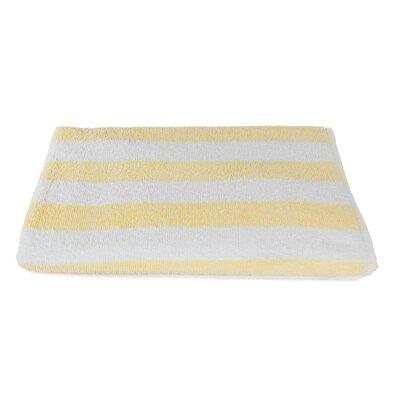 Stripe Beach Towel Color: Sandstone