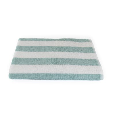 Stripe Beach Towel Color: Seafoam