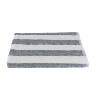 Stripe Beach Towel Color: Gray