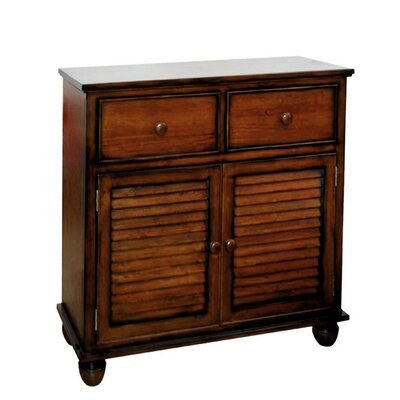 Jamarais 2 Door Accent Cabinet Color: All Spice