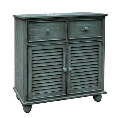 Jamarais 2 Door Accent Cabinet Color: Antique Green