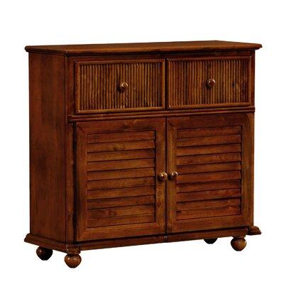 Deke 2 Drawer 2 Door Accent Cabinet