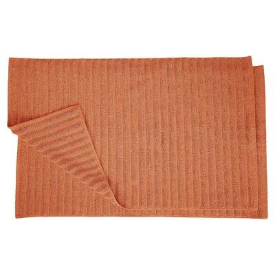 Charo Lined Bath Rug Set Color: Copper