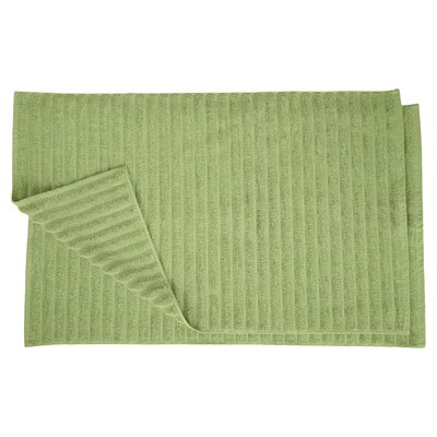 Charo Lined Bath Rug Set Color: Terrace Green