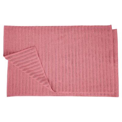 Charo Lined Bath Rug Set Color: Rosewood