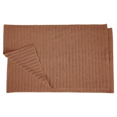 Charo Lined Bath Rug Set Color: Brown