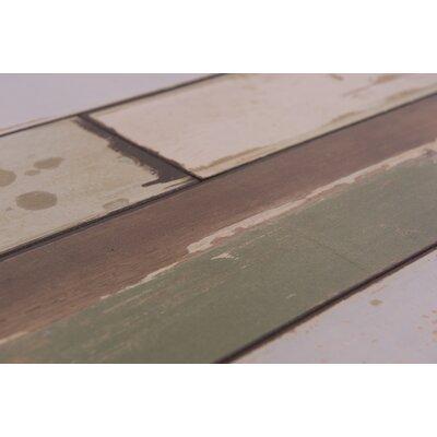 "Naples 4"" x 48"" x 12mm Oak Laminate Flooring in Mixed Pastel"