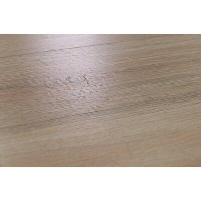 """Zurich 6.12"""" x 47.25"""" x 12mm Oak Laminate Flooring in Oat"""