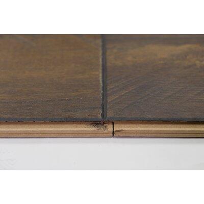 "Turin 7.5"" x 48"" x 12mm Oak Laminate Flooring in Umber"