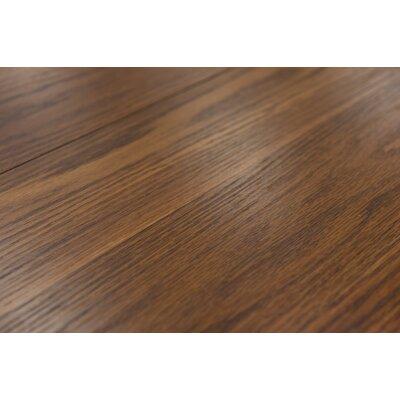 "Palermo 7.5"" x 47.25"" x 8mm Oak Laminate Flooring in Cinnamon"