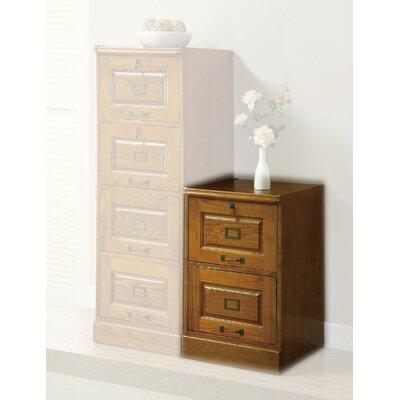 Del 2-Drawer Vertical Filing Cabinet