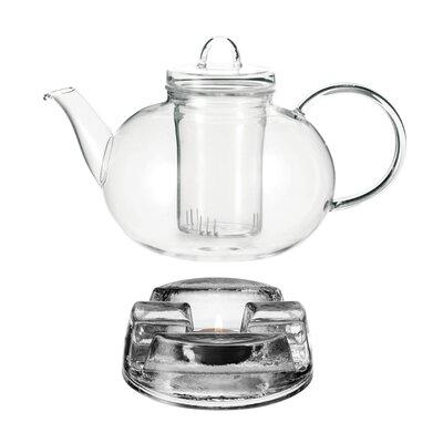 Leonardo 1,5 L Teekanne Balance aus Glas